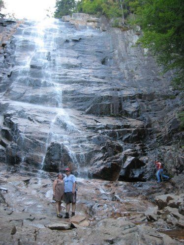 Arethusa Falls - 100' waterfall. Great hike. Trailhead 10 mins from house