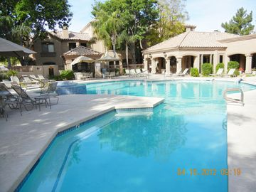 Scottsdale North condo rental - Heated Pool and Clubhouse