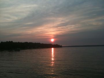 Sunset on Scott's Bay