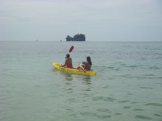 Bocas del Toro cabin photo - kayak tour to bird island from our home