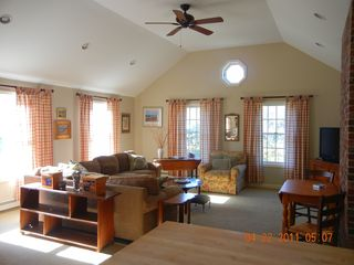 View from kitchen into family room - East Orleans house vacation rental photo