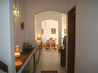 Moncarapacho villa rental - From Marble Stairs to Dining