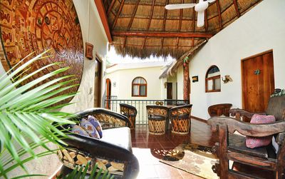 Open air palapa 2nd floor