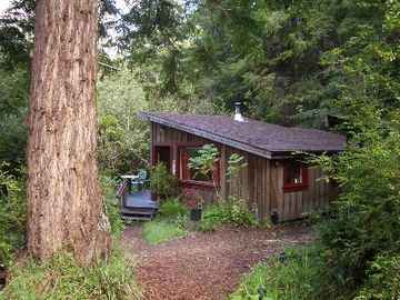 Mendocino cottage rental - Big River Ridge Cottage