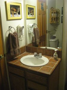 Master Bathroom Sink, Tile Counter