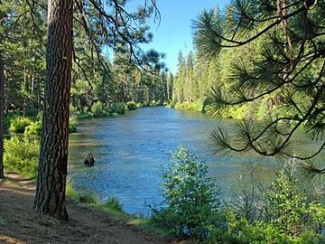 Deschutes River Trail. Great for hiking or biking