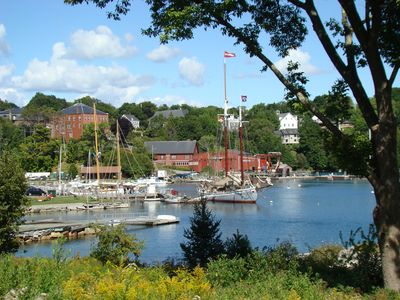 Rochport Harbor, a lovely 3/4 mile walk from the cottage.