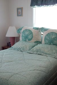 Emerald Isle cottage rental - Sweet Success East master bedroom (with private bath)