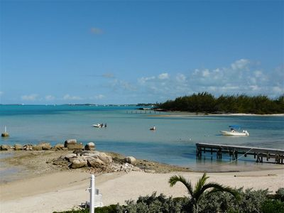Great Exuma townhome rental - A playground outside your door...warm shallow waters and oceans of fun!