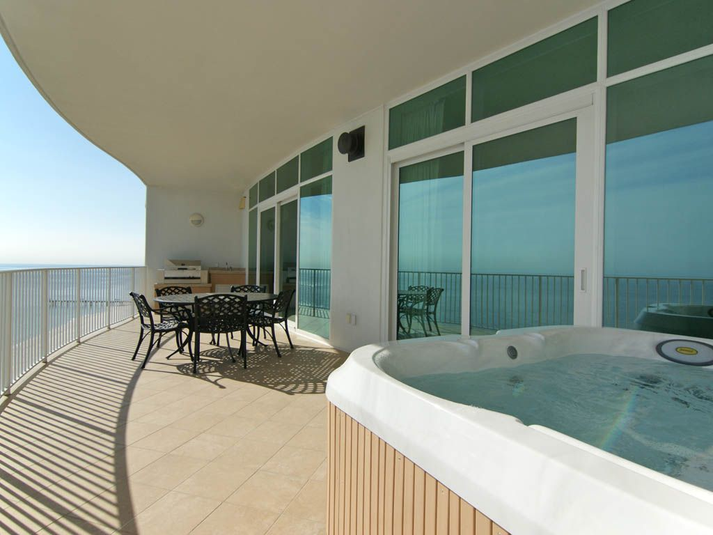 16th floor 3 bedroom spacious gulf front luxury condo with private