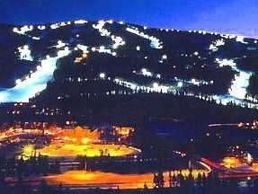 Your Night View of Keystone Mtn. - Keystone townhome vacation rental photo