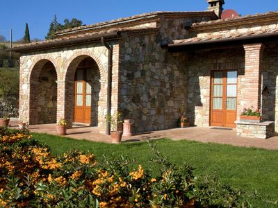 Farmhouse with pool, near thermal pools, breathtaking views