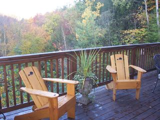 Back Deck - Pittsfield house vacation rental photo