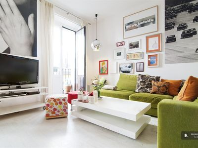 """Friendly Rentals The Tribeca III apartment in Madrid - Click on the """"Book Now"""" button to calculate the exact price."""