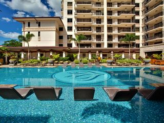 Ko Olina villa photo - Quiet Lap Pool with water loungers