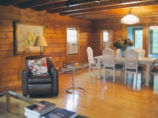 Rhinebeck cabin photo - Living and Dining Room