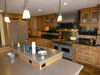 Kitchen and Island