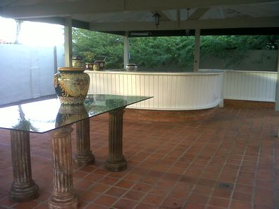 Gazebo with Wet Bar