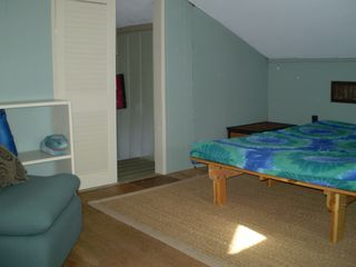 Windham chalet photo - Loft with full size futon, great for kids.