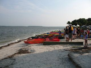 Sea Pines townhome photo - Kayaking from Harbourtown
