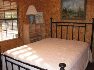 Concan cabin photo - Master Bedroom with Queen Bed