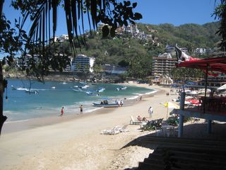 Puerto Vallarta villa photo - Mismaloya Beach right in front of the house-- sun, water, fishing, boating, food