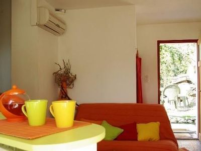 Quiet air-conditioned accommodation, 38 square meters