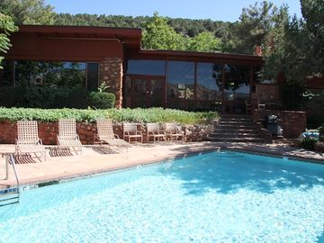 Sedona house rental - SaddleRock Ranch B&B With Private Pool/Jacuzzi For Our Guests To Enjoy...