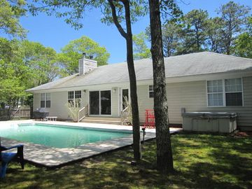 Westhampton Beach house rental - Hot Tub, Lots of Sun, Shade also if needed, Hot Tub, Gas Grille, Dining Set,