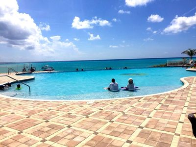 Infinity Pool at Bimini Sands, Oceanfront