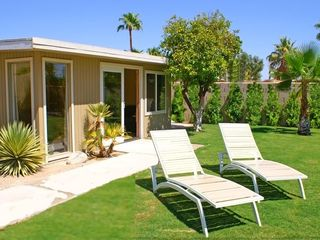 Palm Springs house photo - Casita (4th Bedroom) Separate from House. By Lawn, Private Pool, Near Kitchen.