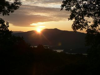 Hiawassee chalet photo - Sunrise, it's worth a thousand words