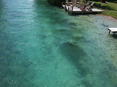 Torch Lake cottage rental - Crystal clear water