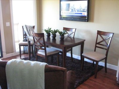 Dining room, large table for the family!