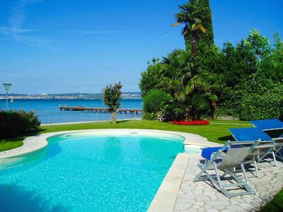 Villa Aquaria ~ lakeside bliss and boat mooring, with this villa in Sirmione