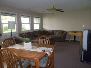 Allegan house photo - Spacious Family Room