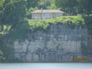Muscle Shoals house rental - View of Muscle Shoals Music House from McFarland Park.