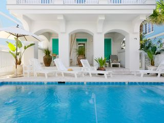 Rosemary Beach house photo - MAIN--Pool Courtyard, & Loggia