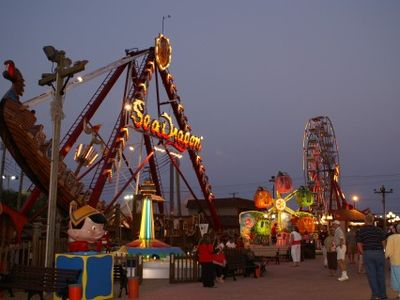 Fantasy Island Amusements (2 blocks away)