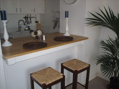 Point Loma condo rental - Breakfast Bar