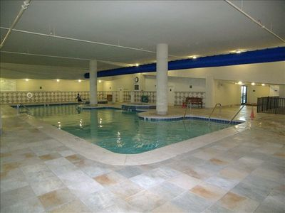 Indoor pool & hot since in case you get tired of the sun or if its a rainy day.