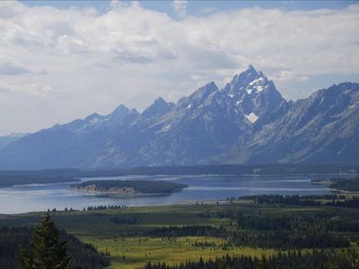 Teton Range from Two Ocean Lake
