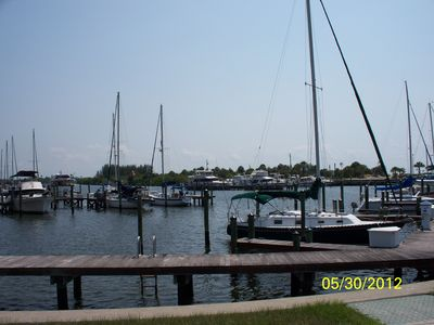 Take a stroll over the water at 2 marinas! Fishing/tour charters available!