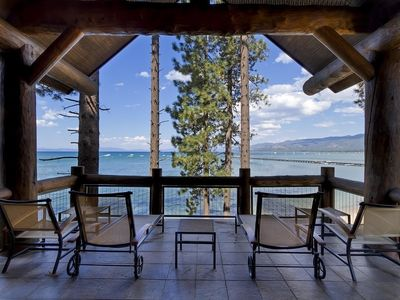 This amazing lakefront location offers unparalleled views from your private deck.