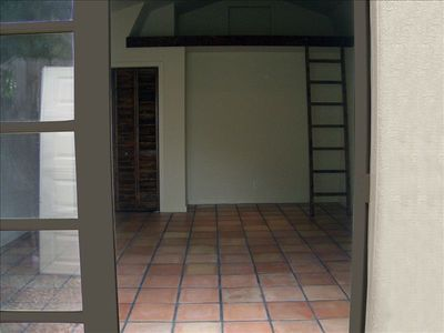 Guest House Entrance - French Doors