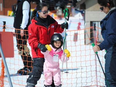 Located 1/4 mile fromTahoeDonner Ski Area - a great place for kids to learn!