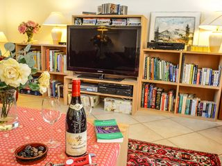 Mallemort-De-Provence villa photo - HD LCD TV, Blu-Ray DVD's, HI-Fi, books & Wi-Fi
