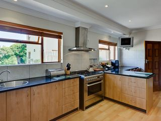 Constantia villa photo - Gourmet Kitchen with 6 plate AEG Gas Hob