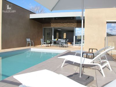 Contemporary luxury villa with private pool and SPA Villa Calmont