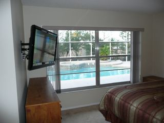 Indian Ridge house photo - Master Bedroom with Pool View